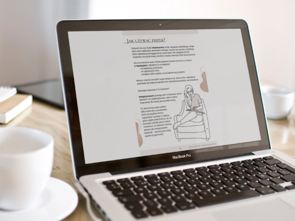 Obrazek przedstawiający stronę z kursu jak się uczyć słówek